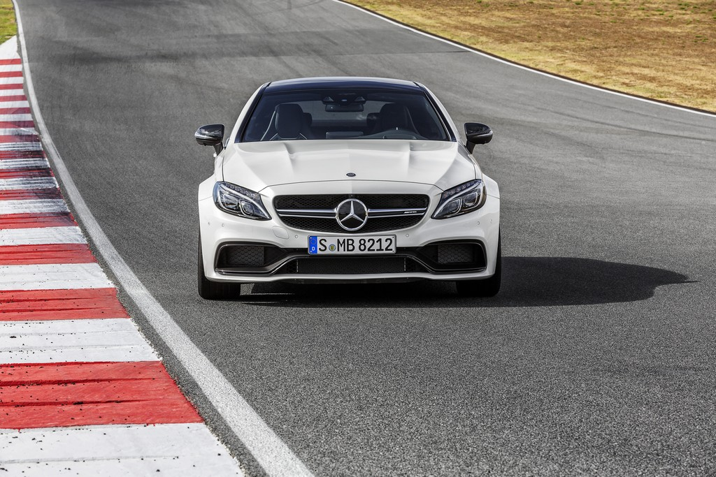 Mercedes-AMG C63 Coupe Fronte