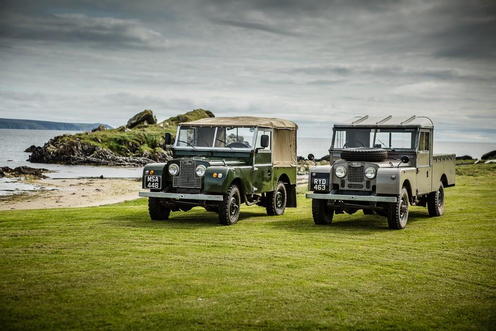Land Rover Islay Scozia