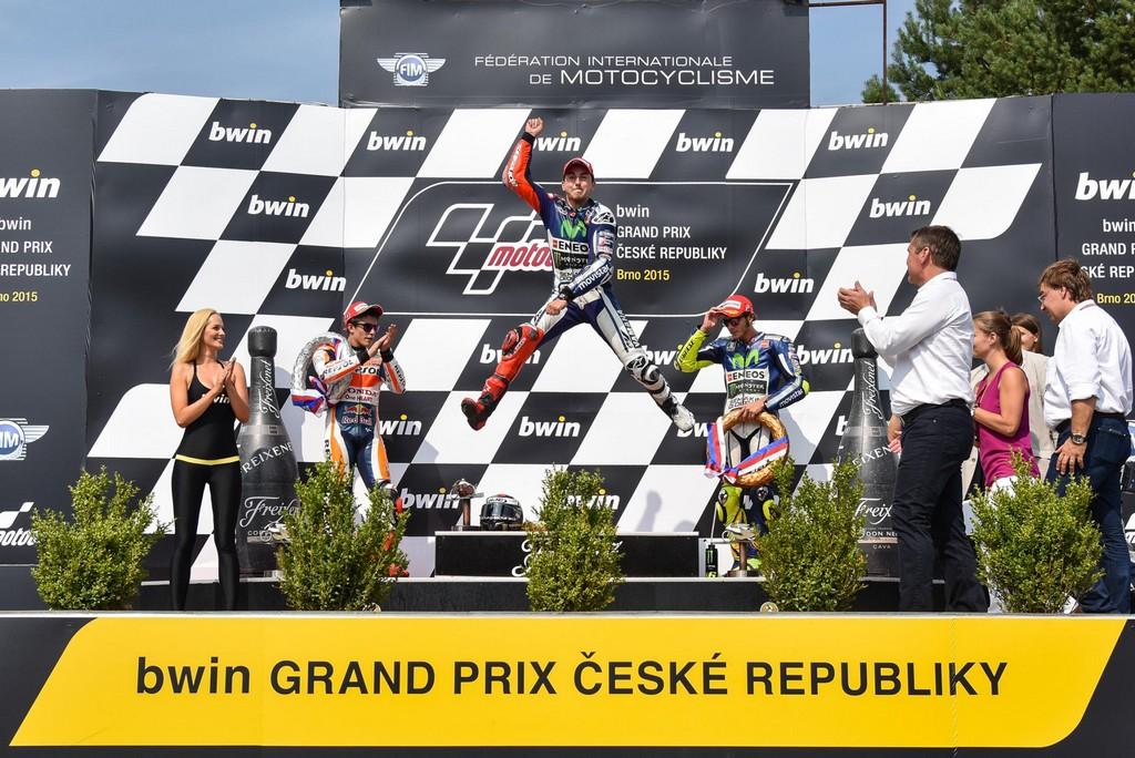 MotoGP 2015 Brno Podio