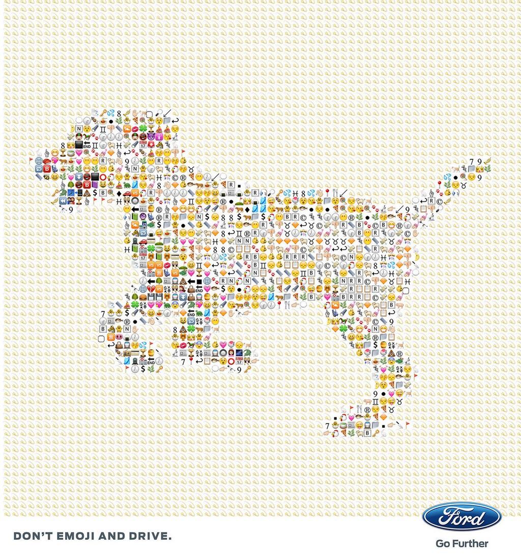 Ford Emoji Dog