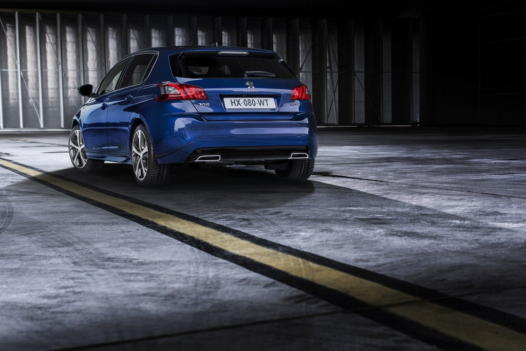Peugeot Driving Experience Autunno 308 GT Posteriore