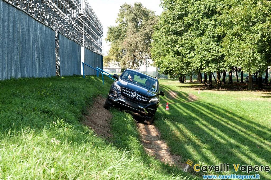 SUV Mercedes Parco di Monza Test Off Road 11
