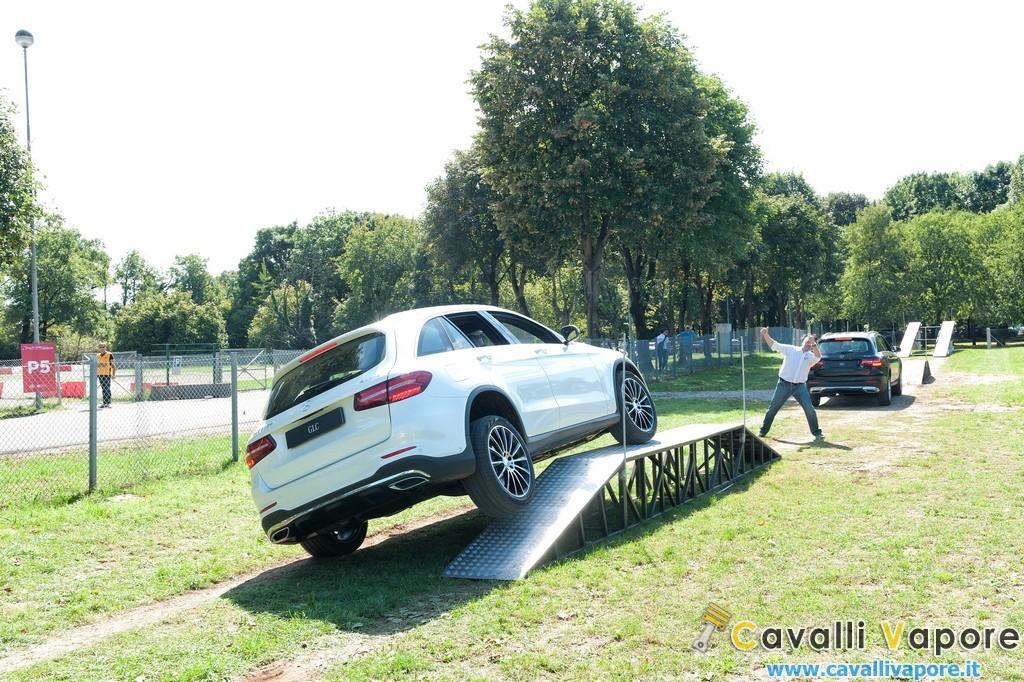 SUV Mercedes GLC Parco di Monza Test Off Road 9