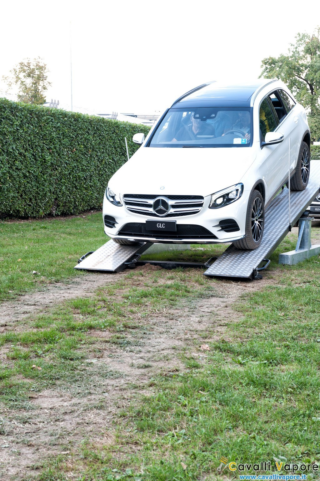 SUV Mercedes GLC Parco di Monza Test Off Road 4