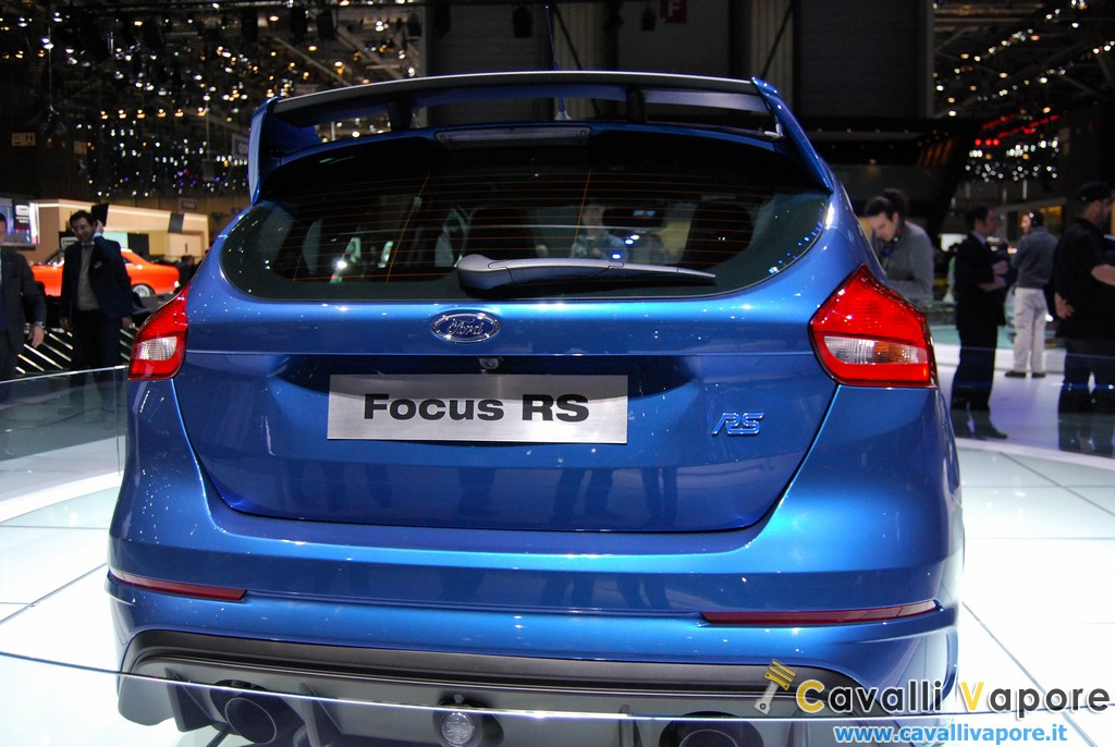 Ford Focus RS Ginevra Lato