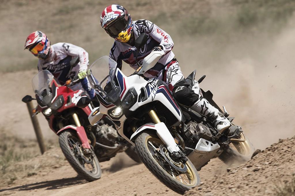 Honda CRF1000L Africa Twin Marquez e Barreda