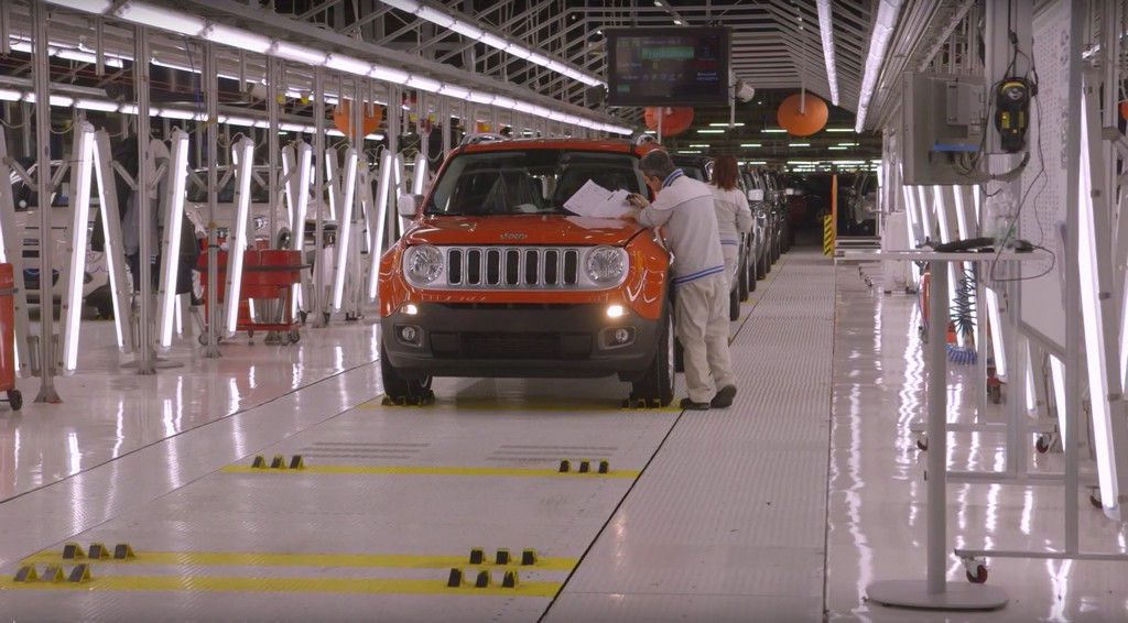Jeep Renegade Stabilimento Melfi 5