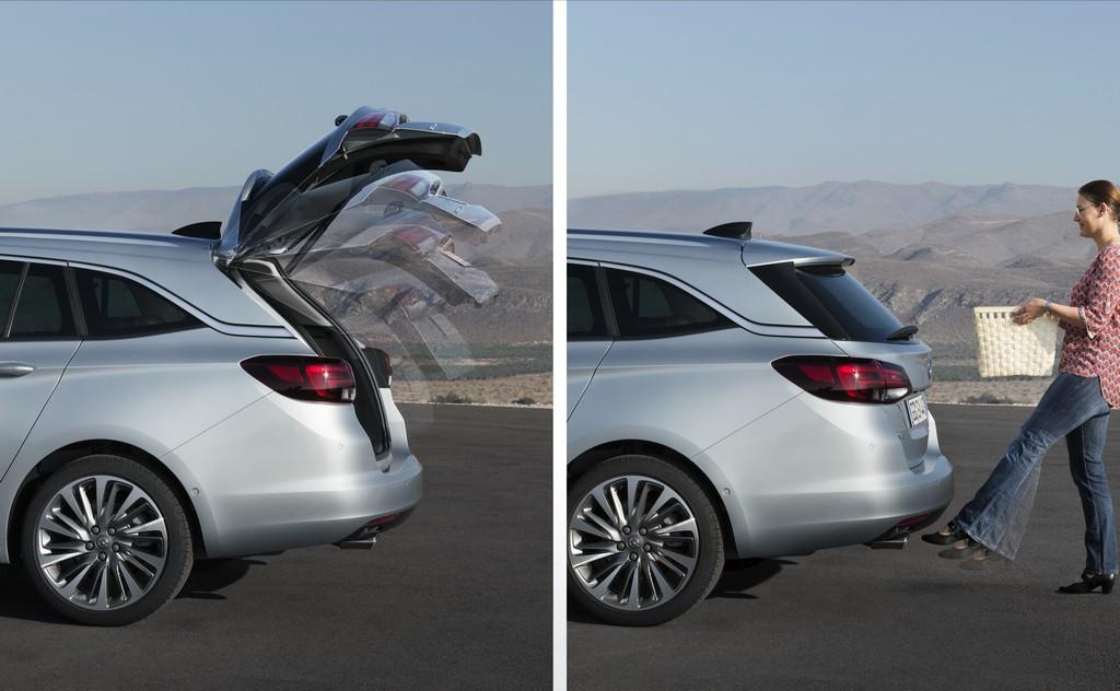 Opel Astra Sports Tourer Apertura Bagagliaio