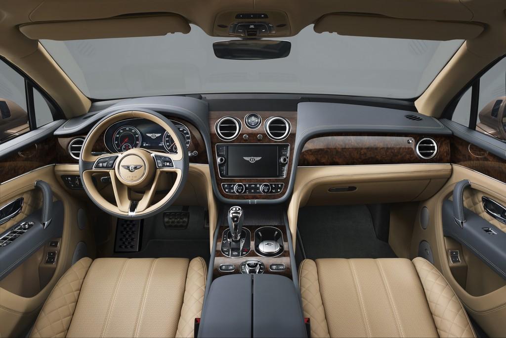 Bentley Bentayga Interni