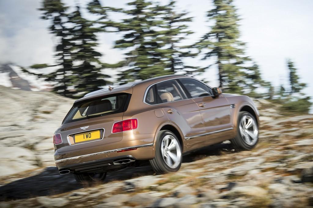 Bentley Bentayga Fuoristrada