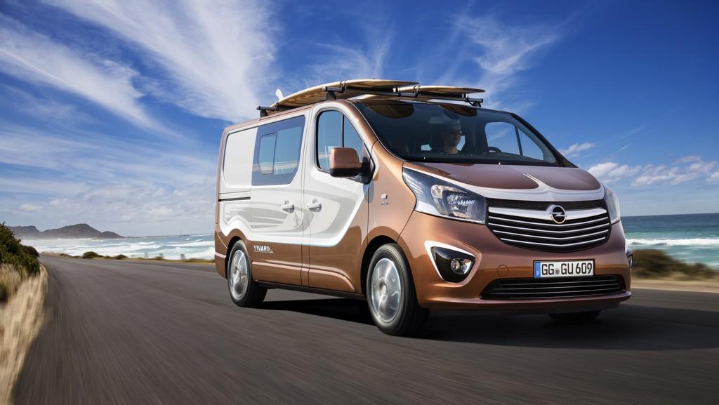 Opel Vivaro Surf Concept Tre Quarti Dinamico