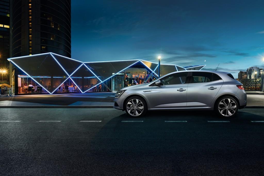 Renault nuova Megane Lato Sinistro