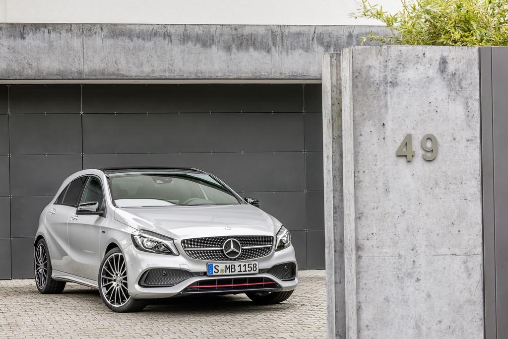 Mercedes Classe A Tre Quarti ANteriore