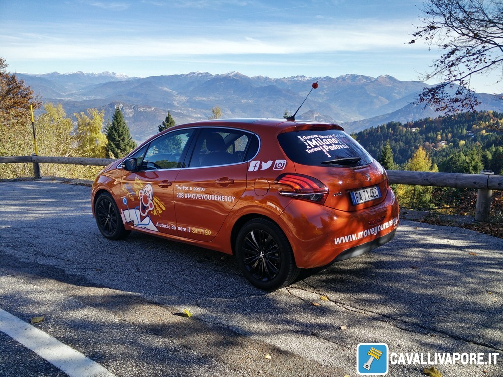 Peugeot 208 MoveYourEnergy Tour