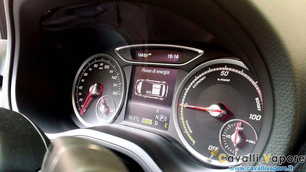 Mercedes Classe B Electric Drive Cruscotto