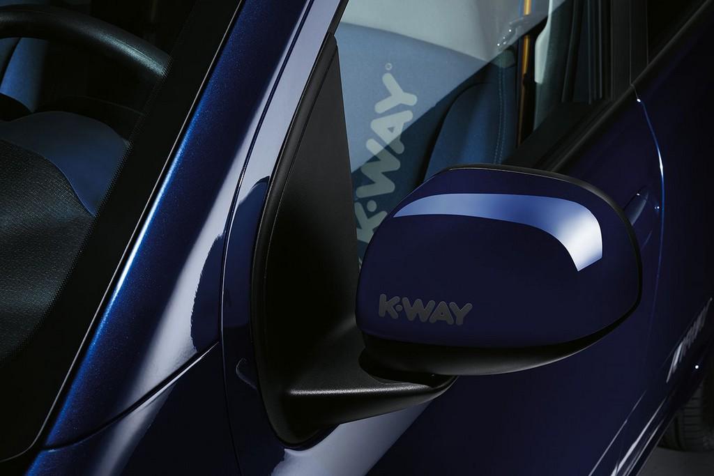 Fiat Panda K-Way Logo Specchietto