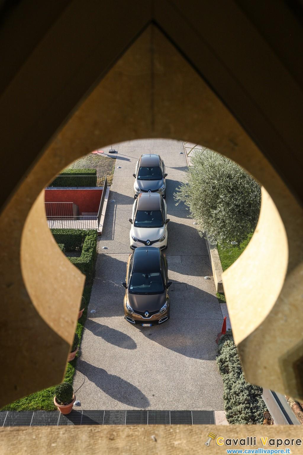 Renault Captur Iconic ed Excite Dettaglio