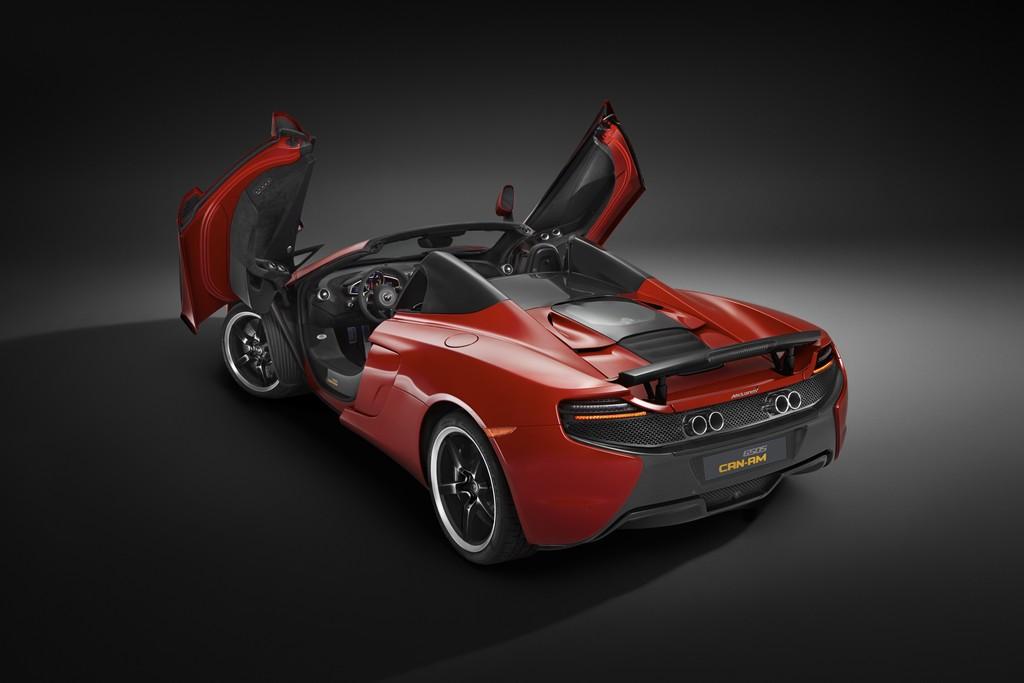 McLaren 650S Can-Am Portiere Aperte