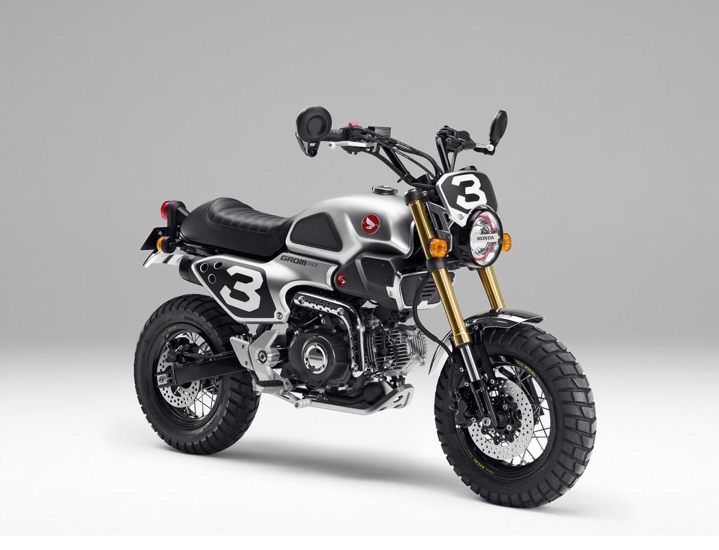 Honda Grom Scrambler Concept One