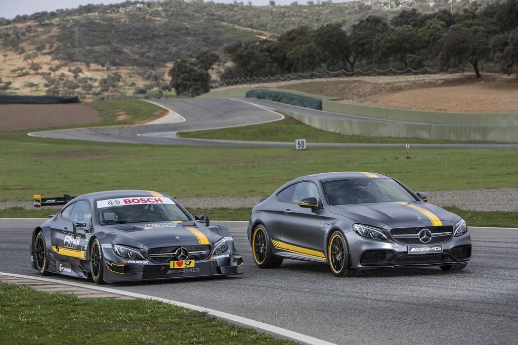 Mercedes C63 Coupe AMG Edition 1 e DTM