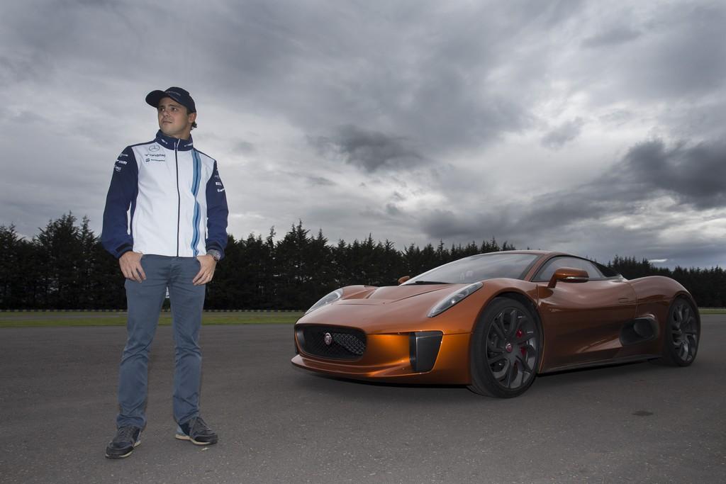 Jaguar C-X75 Felipe Massa
