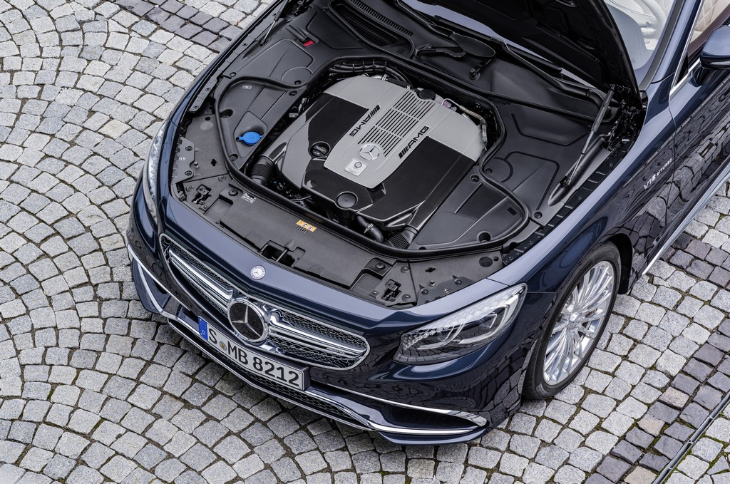 Mercedes AMG Classe S 65 AMG Cabriolet Motore