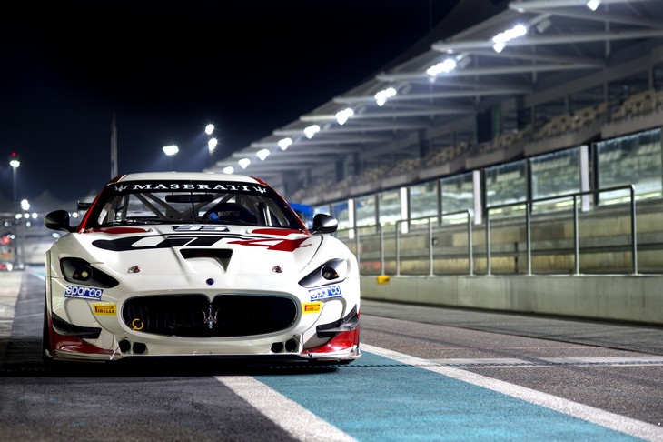 Maserati GranTurismo MCs GT4 Davanti