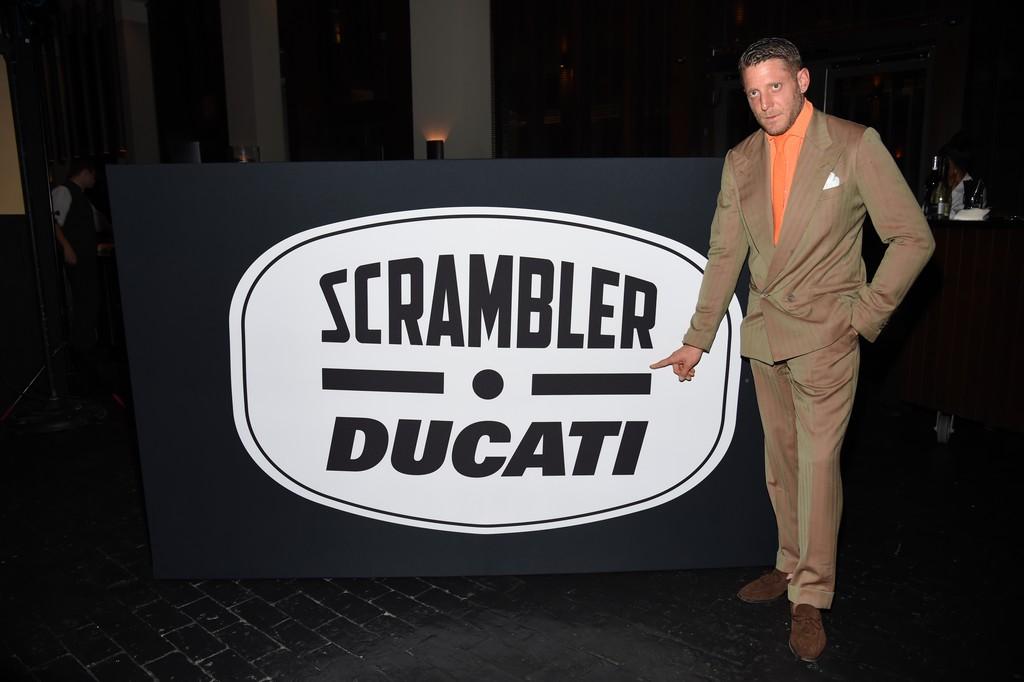 Ducati Scrambler e Italian Indipendent Lapo