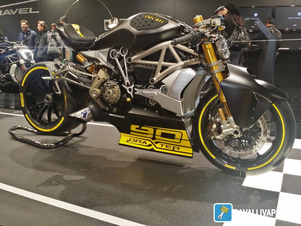 Ducati XDiavel draXter Motor Bike Expo 2016
