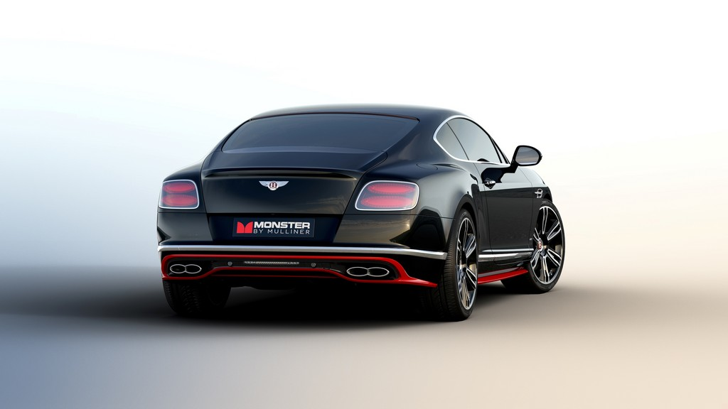 Monster by Mulliner Continental GT Dietro