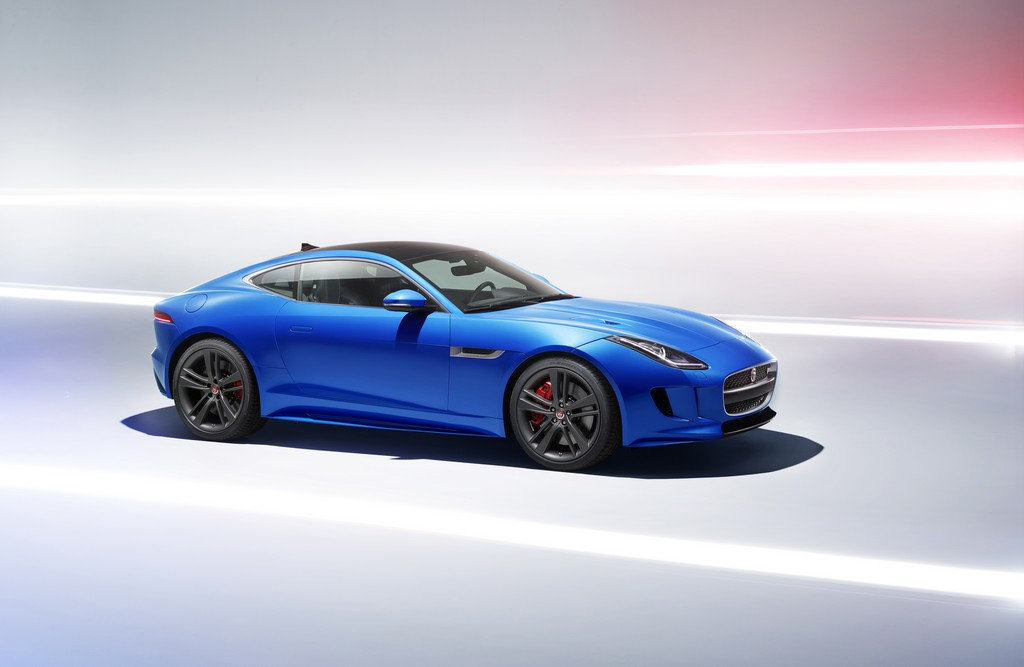 Jaguar F-TYPE British Design Edition Laterale