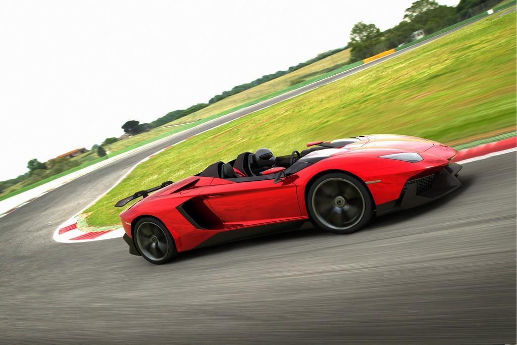Lamborghini Aventador J Curva