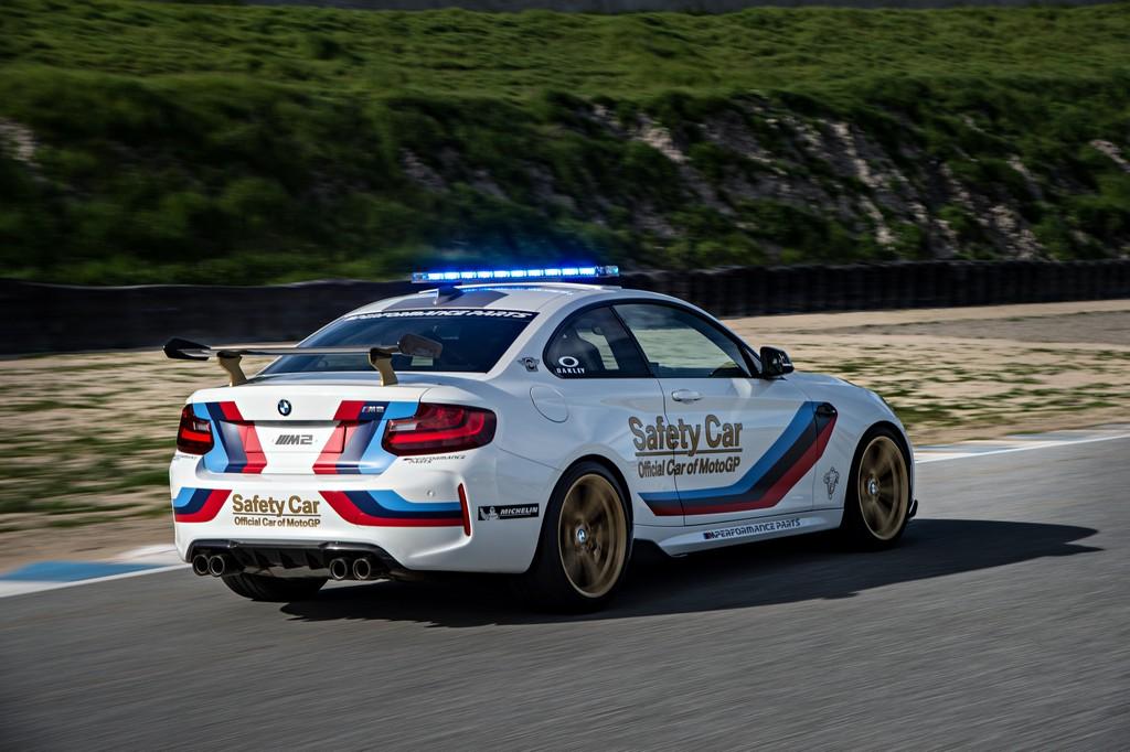 BMW M2 Safety Car Laguna Seca Dietro