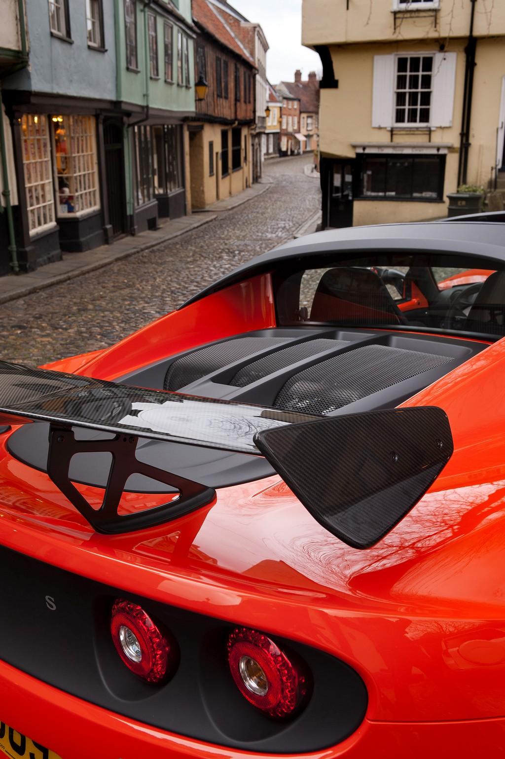 Lotus Elise CUP 250 Spoiler