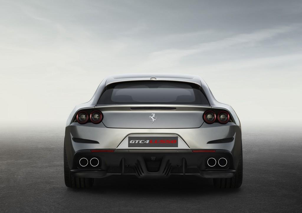Ferrari GTC4Lusso Dietro