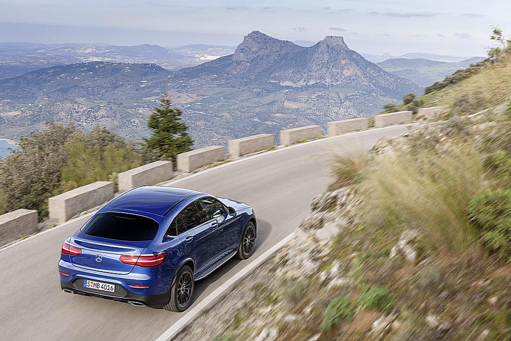 Mercedes GLC Coupe Alto Dietro