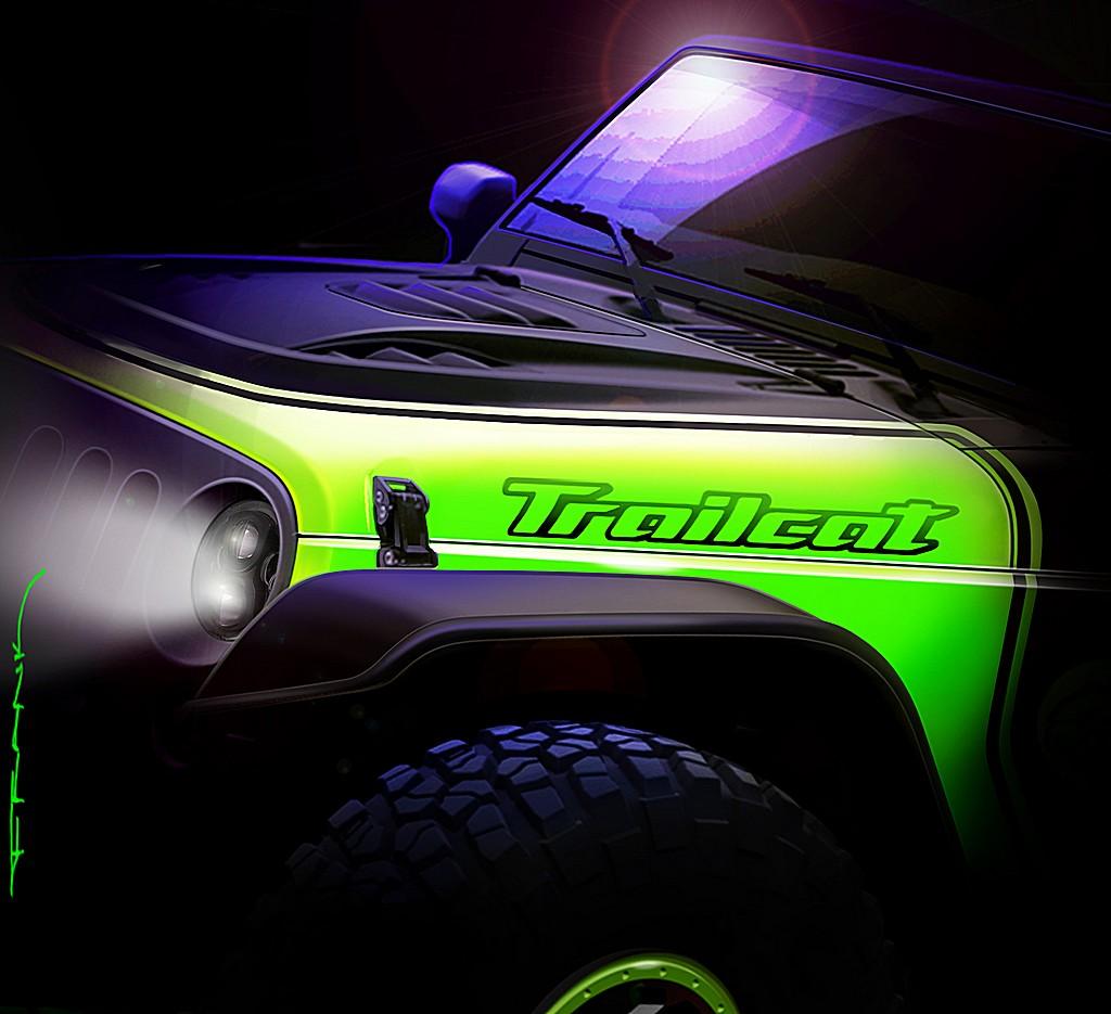 Jeep Trailcat Concept Sketch