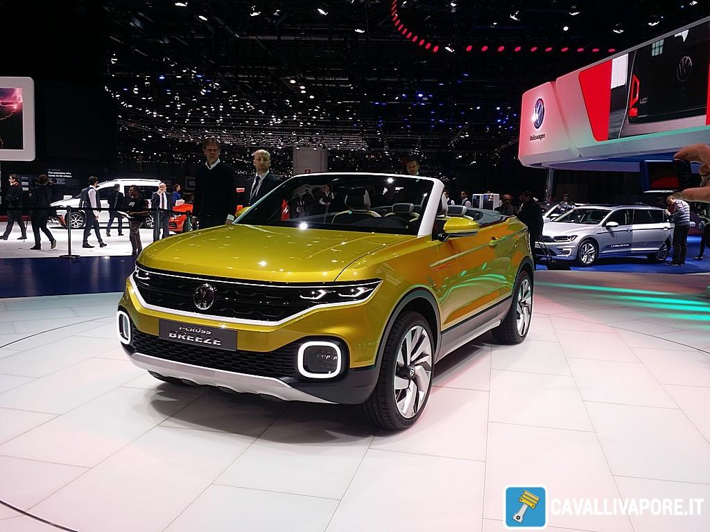 Volkswagen T-Cross Breeze Concept LIVE GIMS 2016 Tre Quarti Anteriore Sinistro