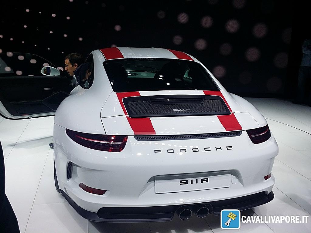 Porsche 911 R LIVE GIMS 2016 Dietro