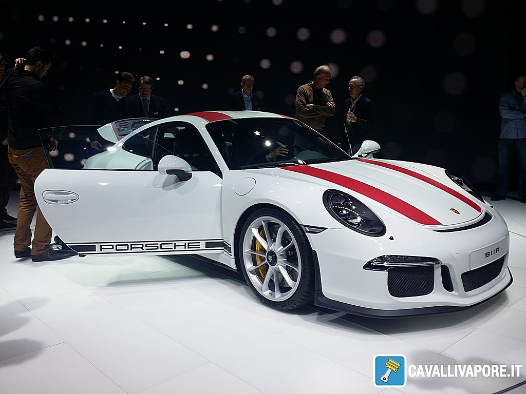 Porsche 911 R LIVE GIMS 2016 Portiera Aperta