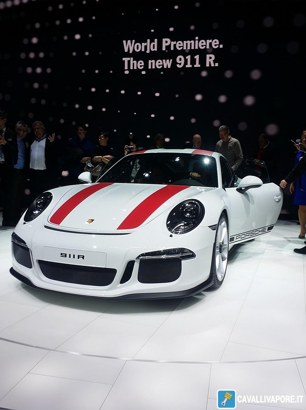 Porsche 911 R LIVE GIMS 2016