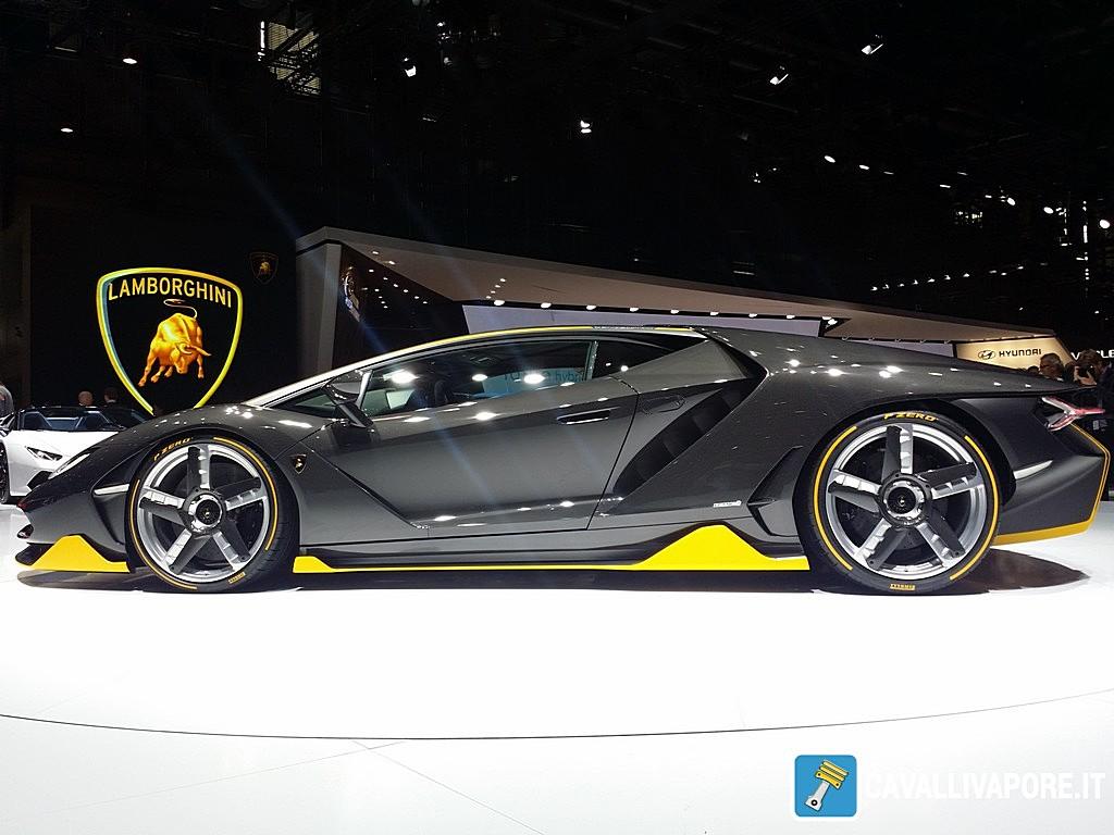 Lamborghini Centenario LIVE GIMS 2016 Lato
