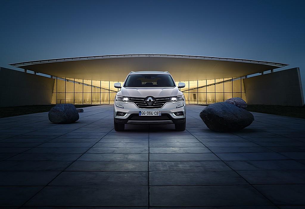 Renault nuova Koleos Davanti