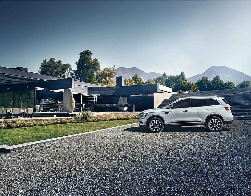 Renault nuova Koleos Lato Sinistro