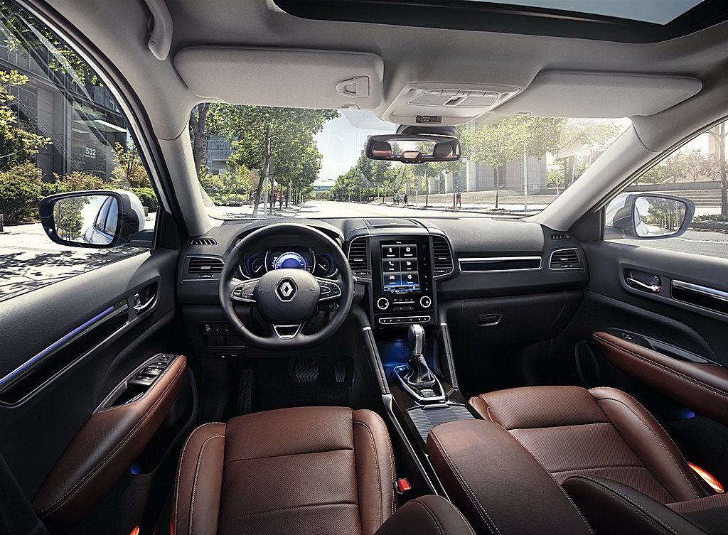Renault nuova Koleos Interno