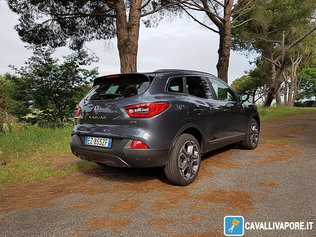 Renault Kadjar Tre Quarti Posteriore