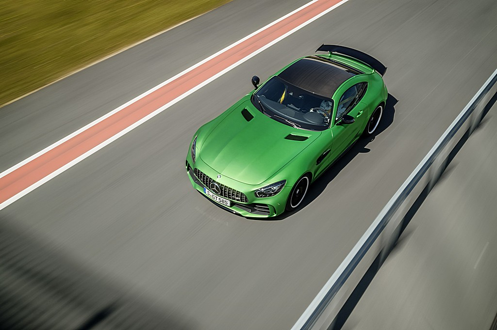 AMG GT R Alta Dinamica