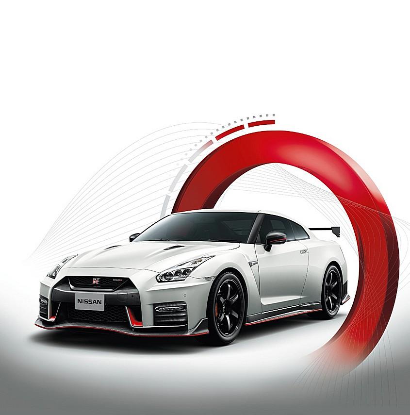 Nissan GT-R Nismo MY17 Tre Quarti Cerchio