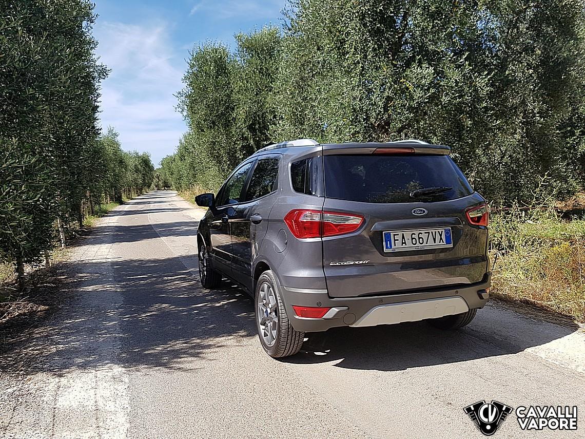 Ford Ecosport MY17 la nostra prova 6