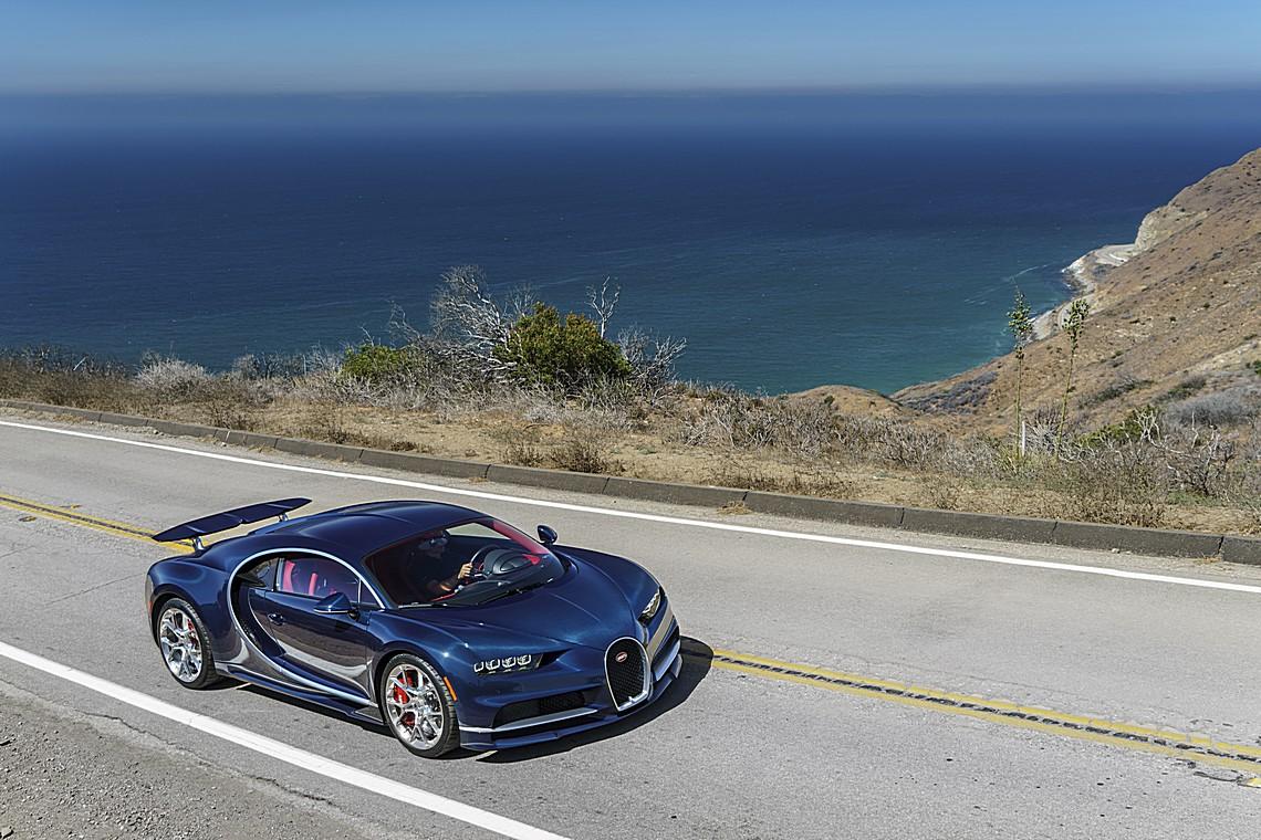 Bugatti Chiron The Quail Dinamica